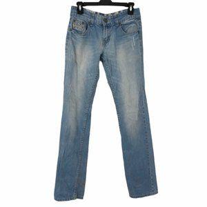 Tumi Mens Premium Regular Slim Leg Jeans Sz 30x32